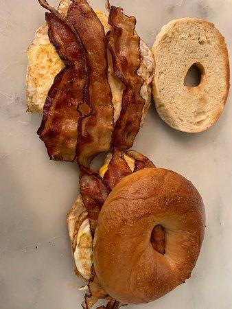 Hamilton Square, NJ: Bacon eggs & cheese