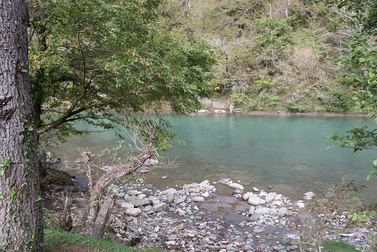 Река Техури.