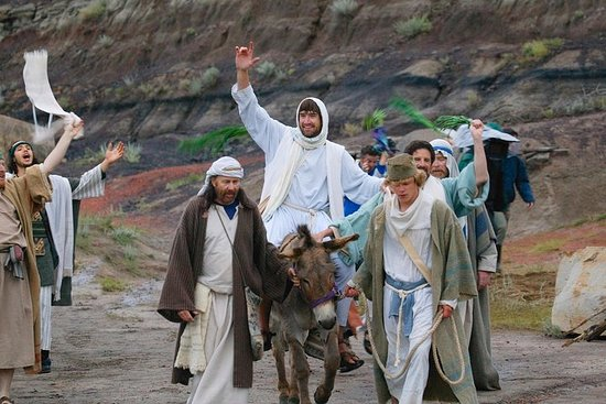 Фотография Palm Sunday in Jerusalem: Mass at Bethpage and Via Dolorosa Procession