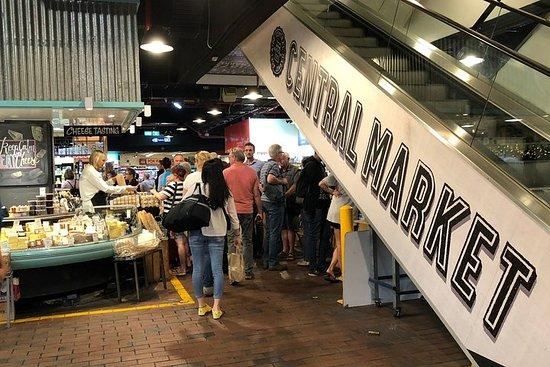 Tour de café da manhã no Mercados...