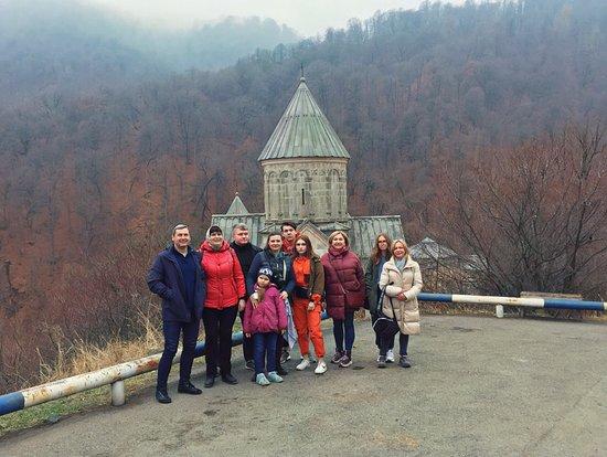 Private Lake Sevan, Sevanavank, Dilijan, Haghartsin, Goshavank Tour from Yerevan: Enjoying fresh air in Dilijan, near Haghartsin monastery.