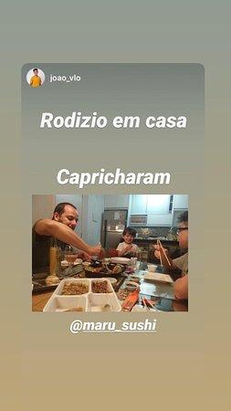 RODIZIO EM CASA