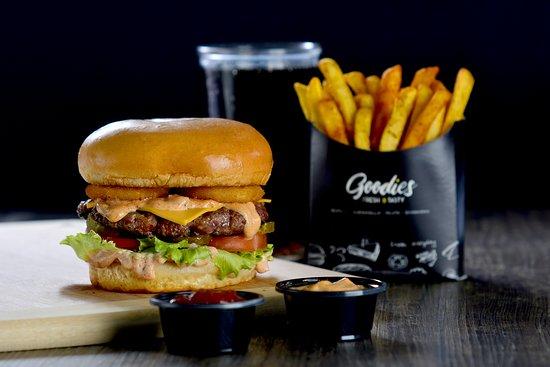 Al Jubaihah, Jordanie : Goodies Angus Burger