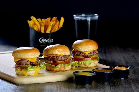 Al Jubaihah, Jordanie : Burgers Sliders
