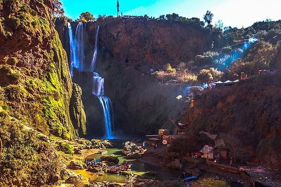 Heldags Marrakech Ouzoud Waterfalls Tour