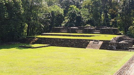 Quirigua, Guatemala: Une construction