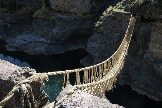 Pont Q'eswachaca || Tout compris || - Visite de groupe