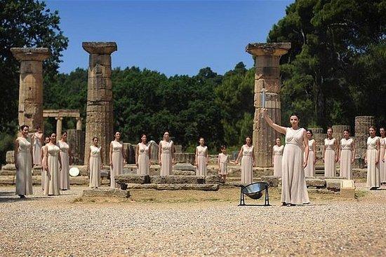 从雅典到古奥林匹亚的私人豪华之旅
