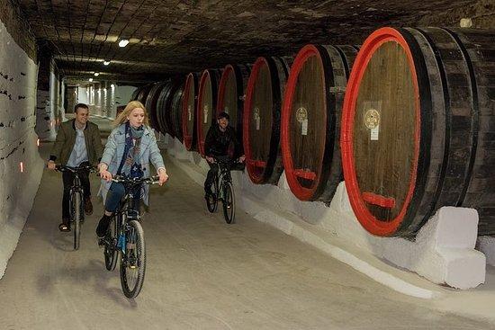 Pedalando em uma vinícola do Guinness...