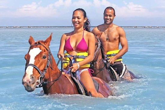 Horseback N Swim, Blue Hole & River Tubing depuis Ocho Rios, Montego...