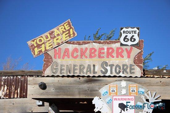 Hackberry, AZ: fachada
