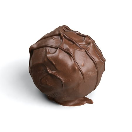 Market Harborough, UK: Handmade milk chocolate truffle