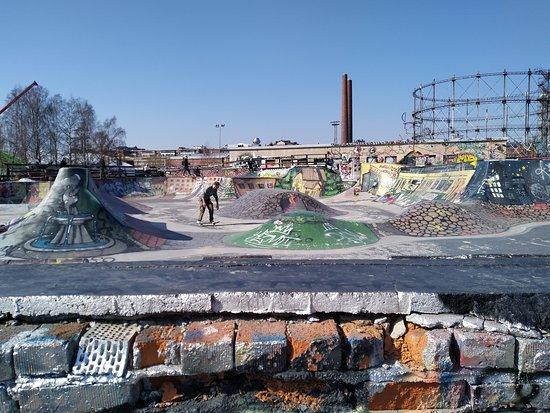 Suvilahti Graffiti Wall