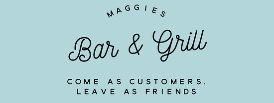 Maggies Bar & Grill: new sign