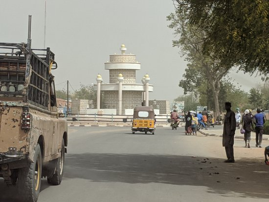 Maradi, Niger: Major round-point