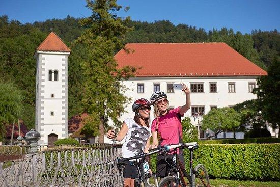 8 dagers sykkeltur fra Alpene til Adriaterhavet: Bled - Ljubljana...
