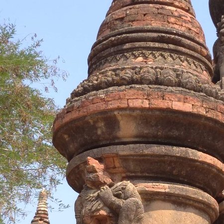 Nice picture in Bagan area.