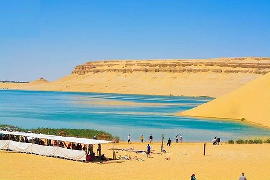 Fayoum oase Whales Valley & Waterfalls...