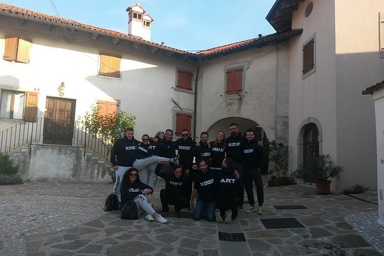 TEAM BUILDING ADVENTURE The magic Goriska Brda-Colio