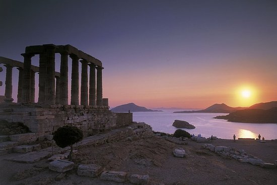 Sounion solnedgang privat tur