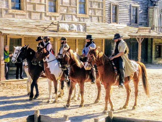 Province of Almeria, สเปน: Grabación de películas del oeste.  Recording western movies
