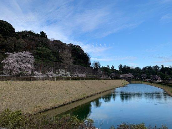 Kanazawa Castle Imori Moat