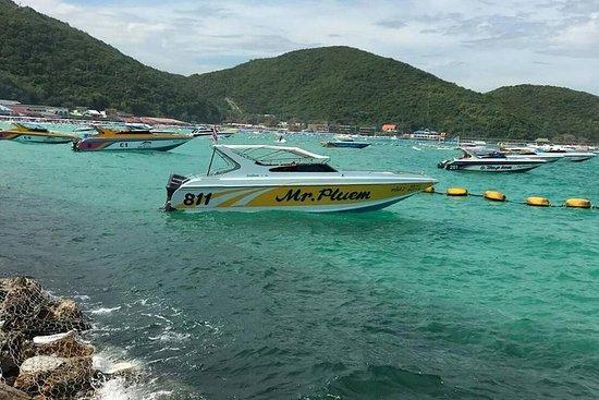 Pattaya: Coral Island tur på hurtigbåt...