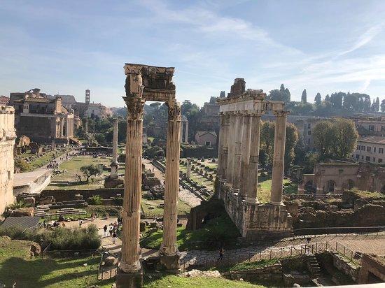Roma con dei Romani