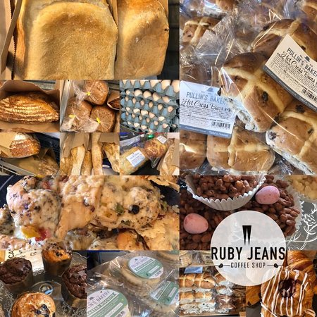 Ruby Jeans is now offering Bread from Pullins Bakery, free range eggs, milk, butter and cheese for delivery (BS11 only) and collection from the shop.