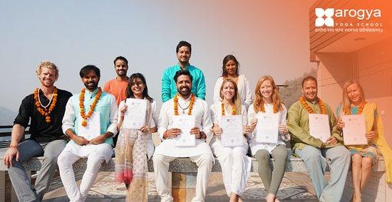 Yoga in Rishikesh, India - Arogya Yoga School