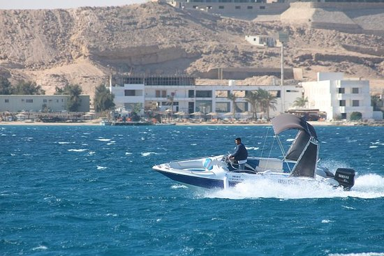 Foto Private Speed boat to Orange Bay Island snorkeling Sea Trip Water Sport-Hurghada