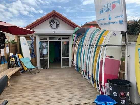 Supdivision Ecole de Surf Capbreton