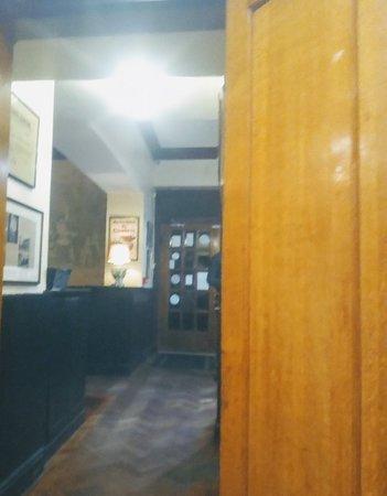 Bar area dark and uninviting