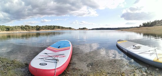 Conoce los embalses de Extremadura con el Paddle Surf