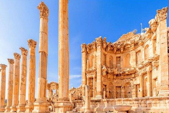 En dagstur Jerash, Ajloun och Umm Qais ...