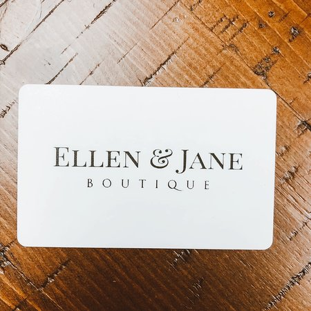 Ellen & Jane Boutique