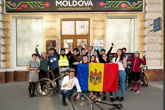 Passeio de bicicleta em Chisinau