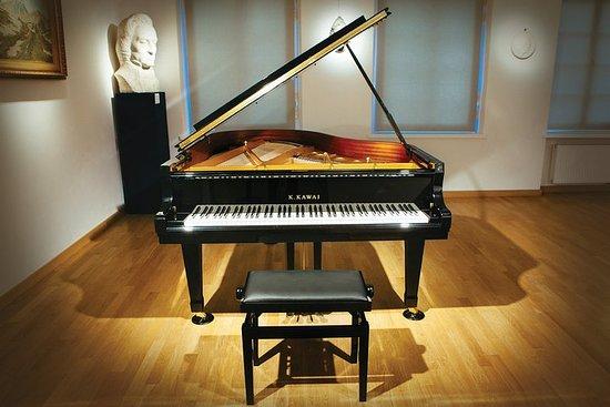 Concertos diários de piano ao vivo de...