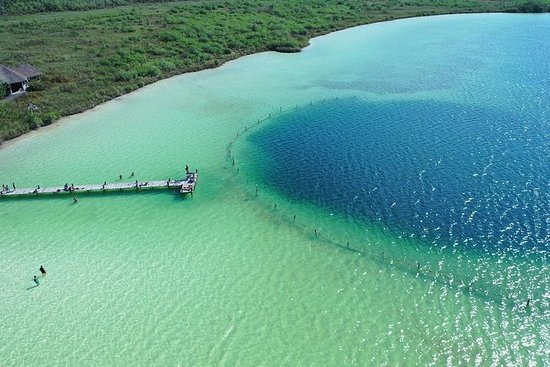 SUPER COMBO Tour til Kaan Luum Lagoon...