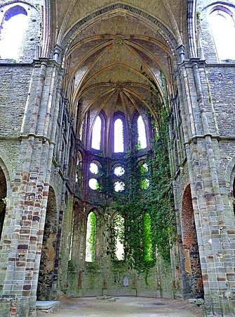 The abbey of Villers