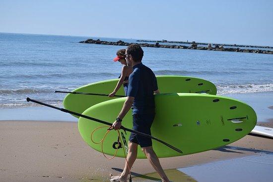 Initiation ou voyage en Stand Up Paddel (SUP) à El Campello (Alicante)