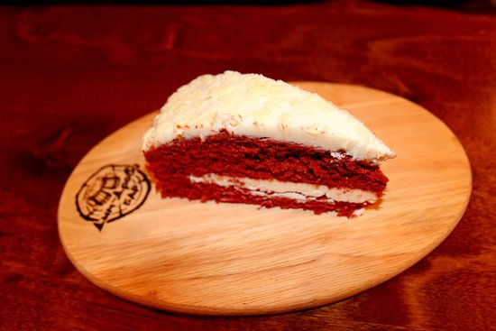 Zelenogorsk, Rusija: Десерт торт Красный вельвет