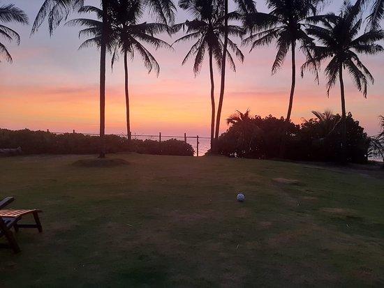Pamunugama, Sri Lanka: Beautiful sunset