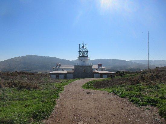 Mañón, España: The lighthouse complex.