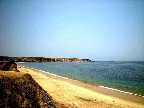Baia Farta, Angola: Praia da Baia Azul