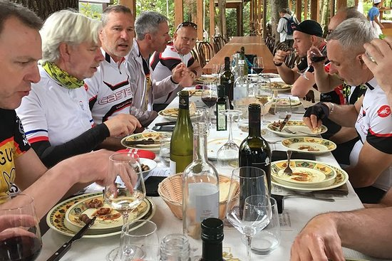 Tuscany Montalcino Brunello Wine cycle...