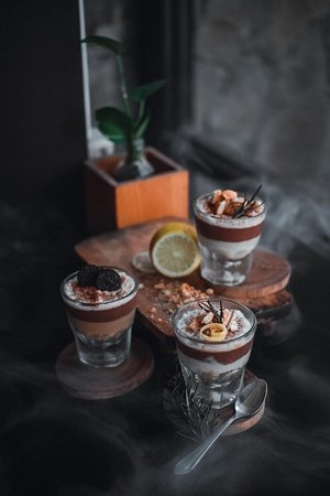 silky espresso pudding available for limited!