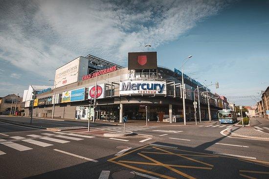 Transportation and shopping center Mercury