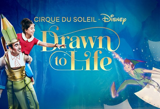 Drawn to Life by Cirque du Soleil