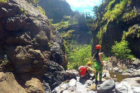Canyoning at Ribeira do Cidrão...
